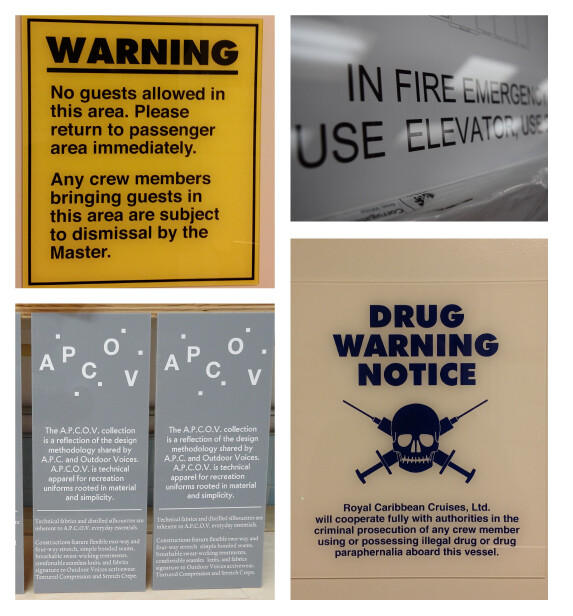 Custom Shape Acrylic Signs Manufacturers in New Jersey