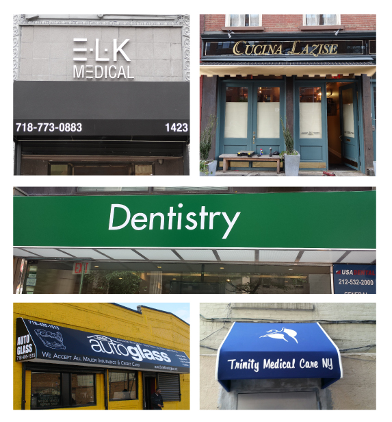 Commercial Awnings and Canopies for Restaurants & Retailers