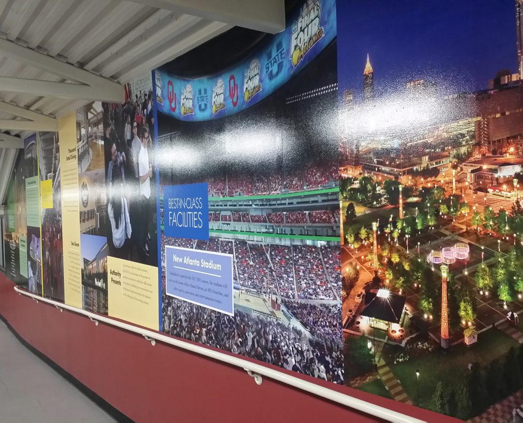 Wall Wraps for Offices and Events