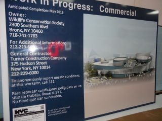 Commercial Work in Progress DOB Sign