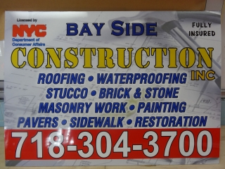 Contractor Information DOB Sign