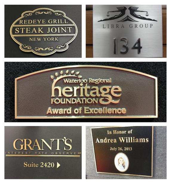 We Provide Metal Plaques For Building, Doors & Memorials in New Jersey