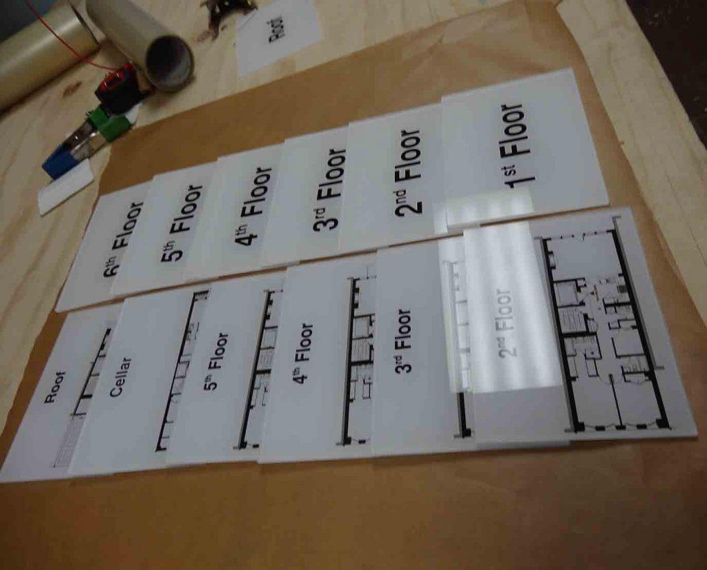 Egress Maps Plates