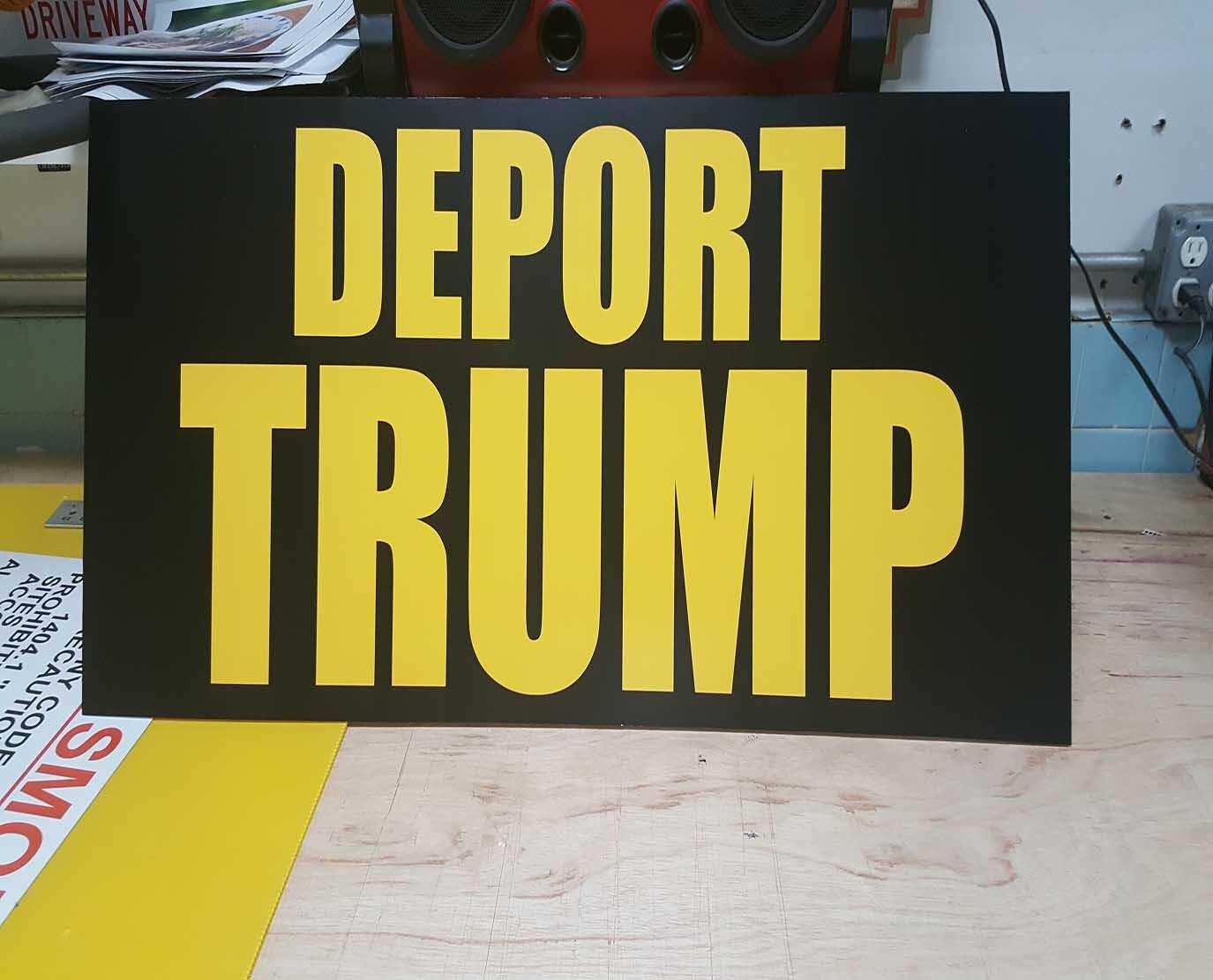 Custom Foam Board sign