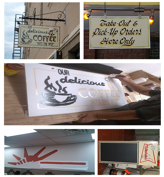 Custom  Hand Painted Sign Makers and Installers in NJ