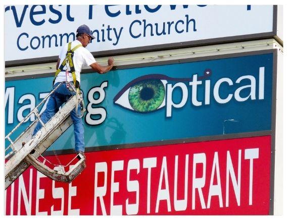 Custom Sign Repair in nyc