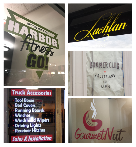 Custom Window Decals and Graphics in NJ