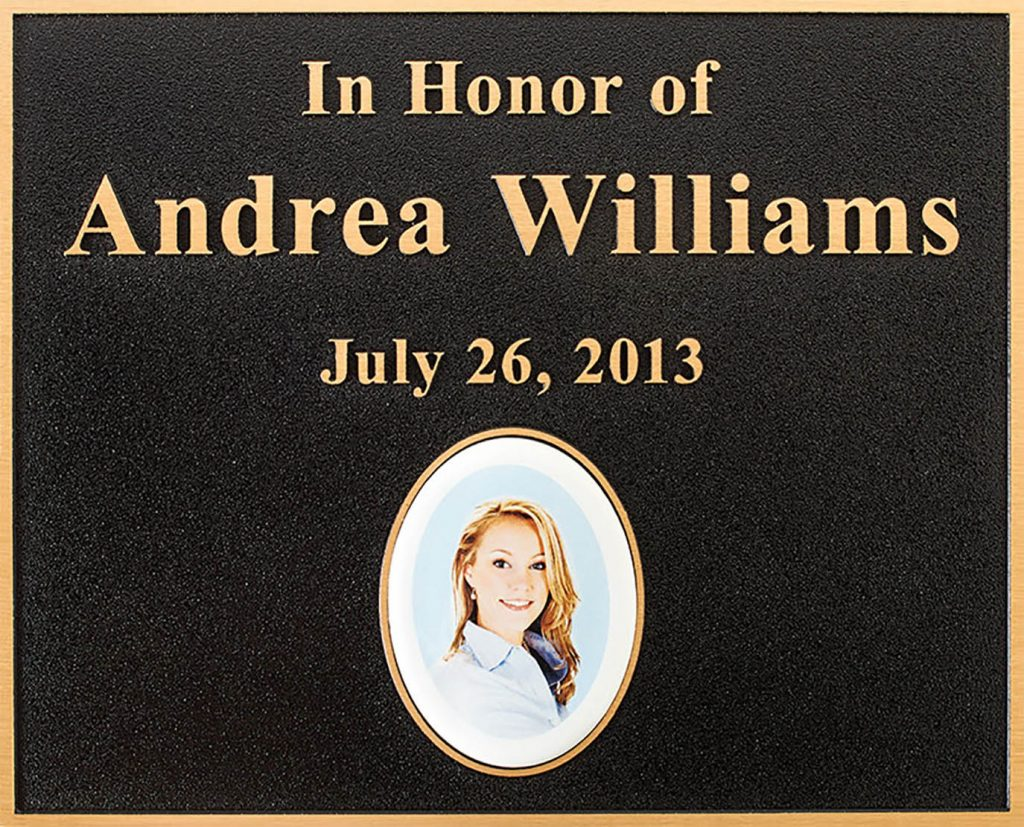 Metal Plaques with Pictures