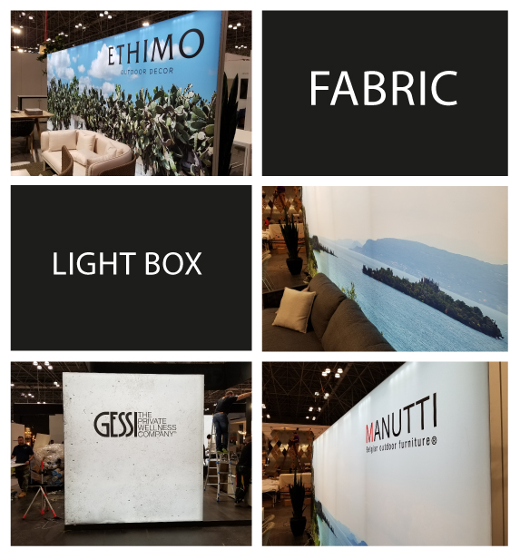 Fabric Light Boxes for Events And Businesses in New Jersey