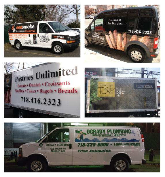 Fleet Graphics, Vehicle Wraps and Vinyl Lettering in NJ