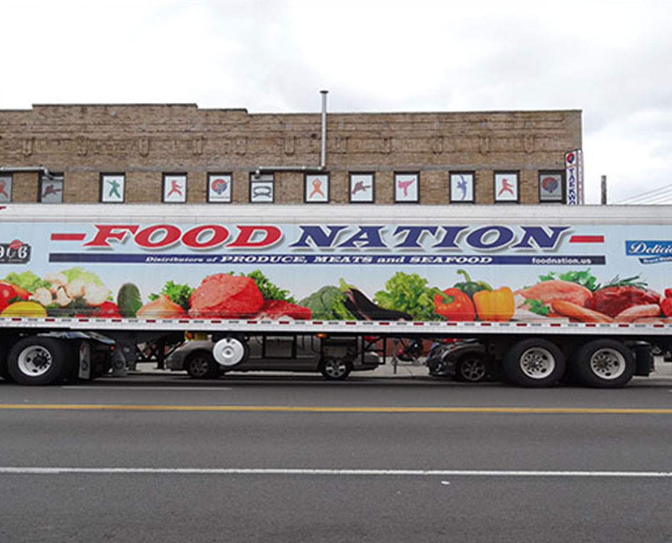 Full Trailer Wrapping