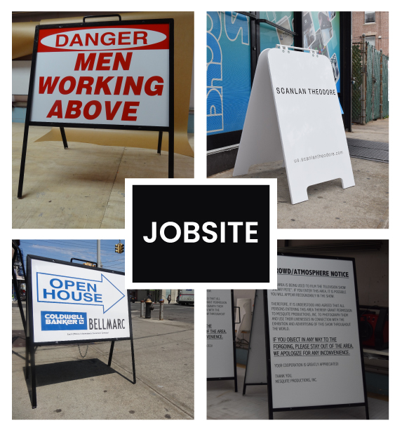 Construction Job Site Signs For Buildings in NJ