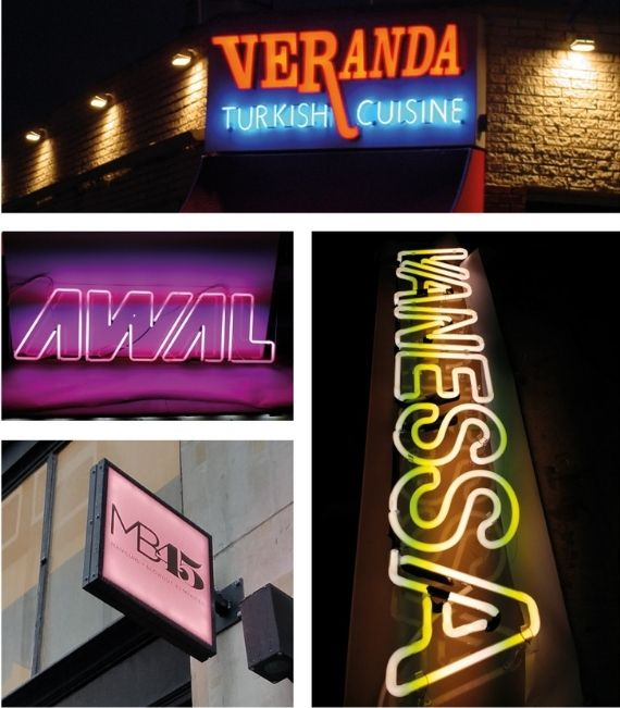 Lighted Sign Materials