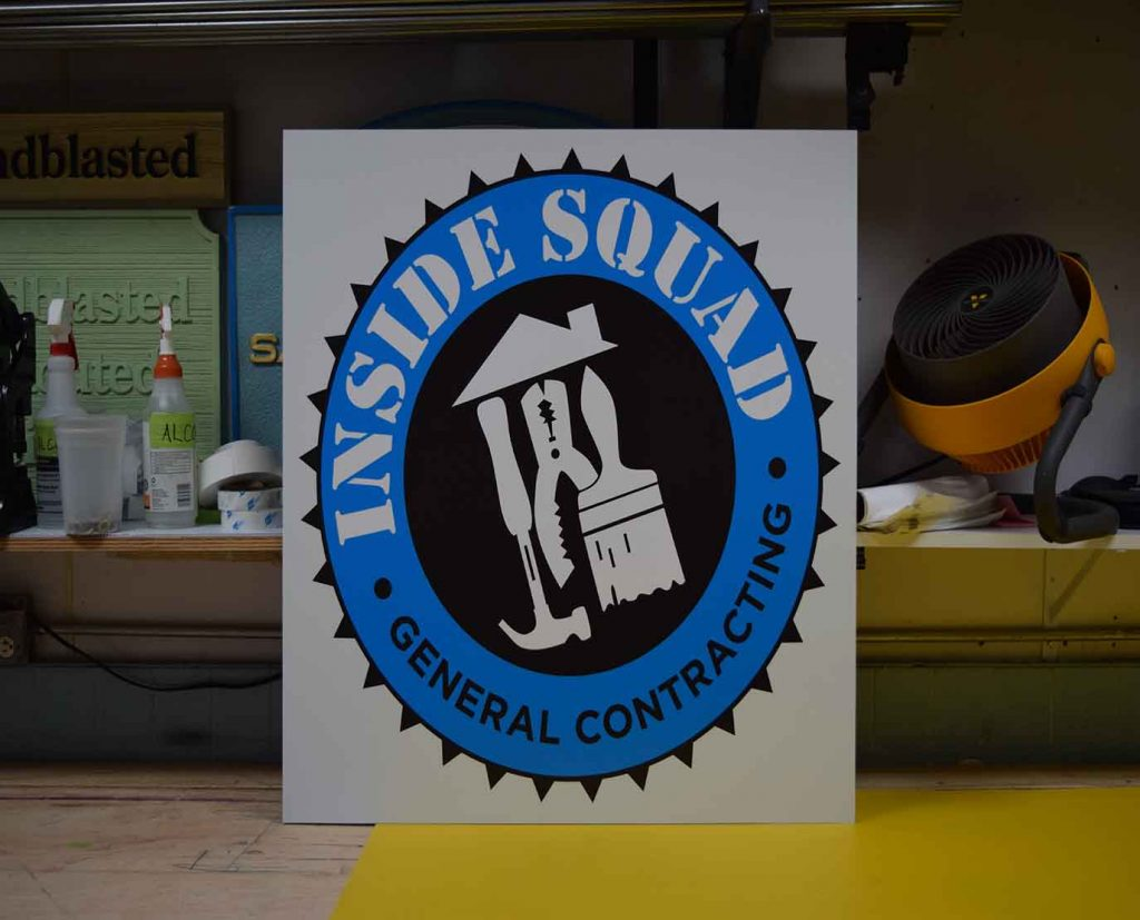 Logo Printed Dibond Sign