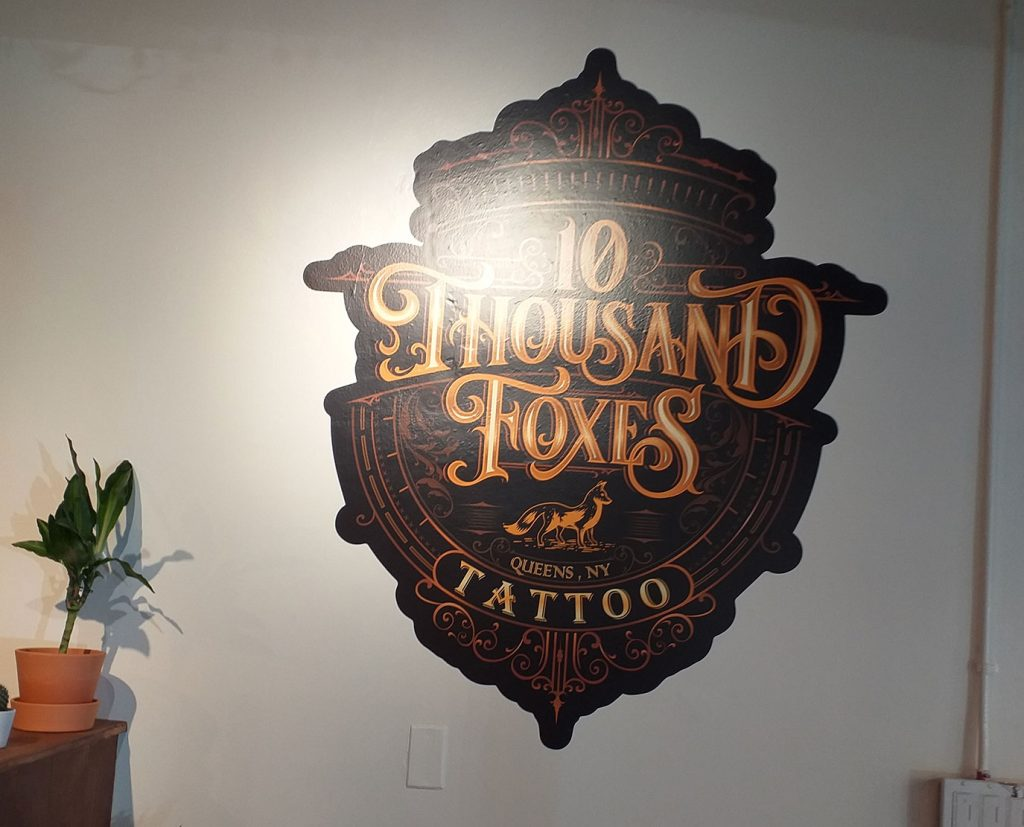 Custom Colored Wall Decals