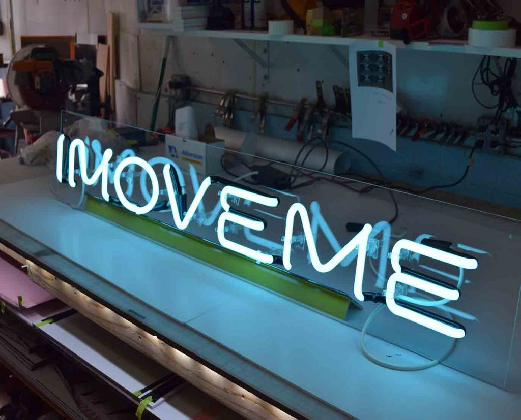 Fabrication of neon signs