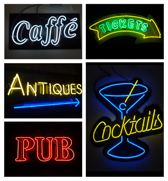 Neon Sign Fabricators for Walls and Windows