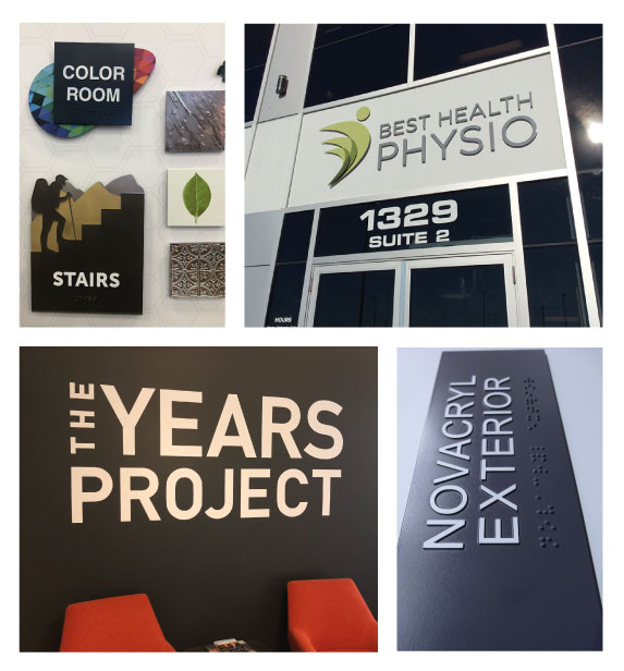 We Manufacture Different Type Of Office Door & Wall Signs