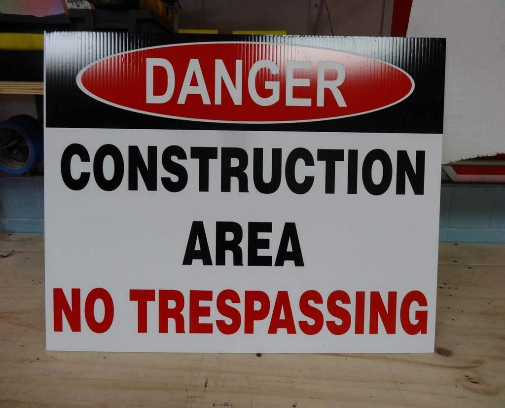 Osha Danger Safety Sign