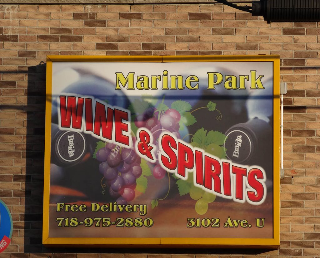 Outdoor Wall Mounted Lighted Sign