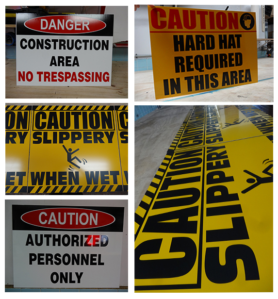 Custom Construction Site Safety Signs Manufacturers in NJ