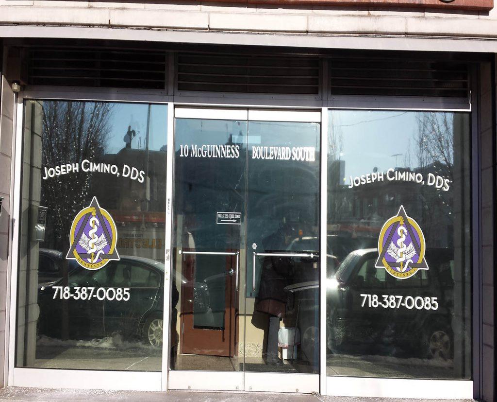 Storefront Vinyl Window Decals