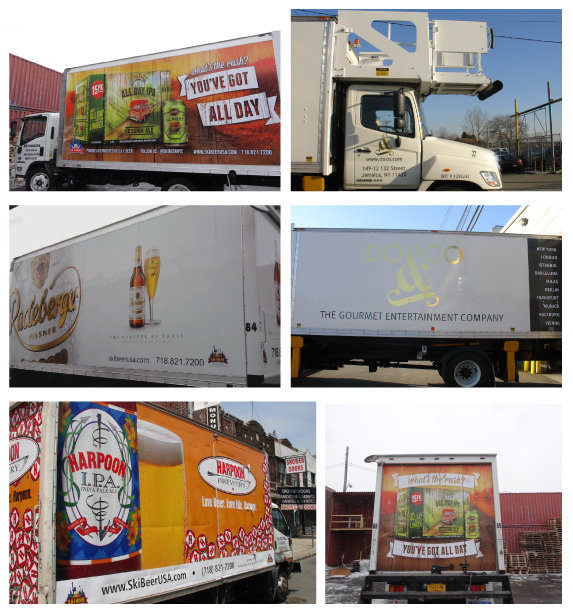 Custom Trailers and Large Vehicle Wraps Manufacturers in NJ