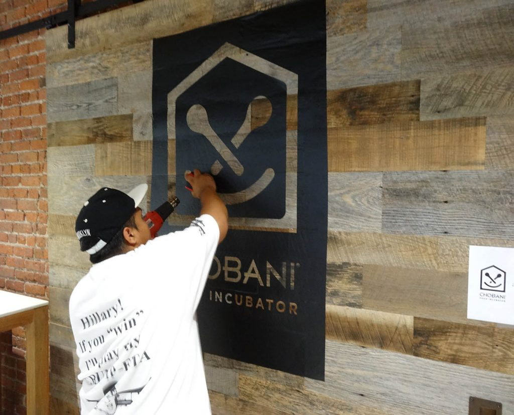 Wooden Sign Hand Painting