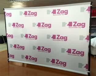 brand event backdrop