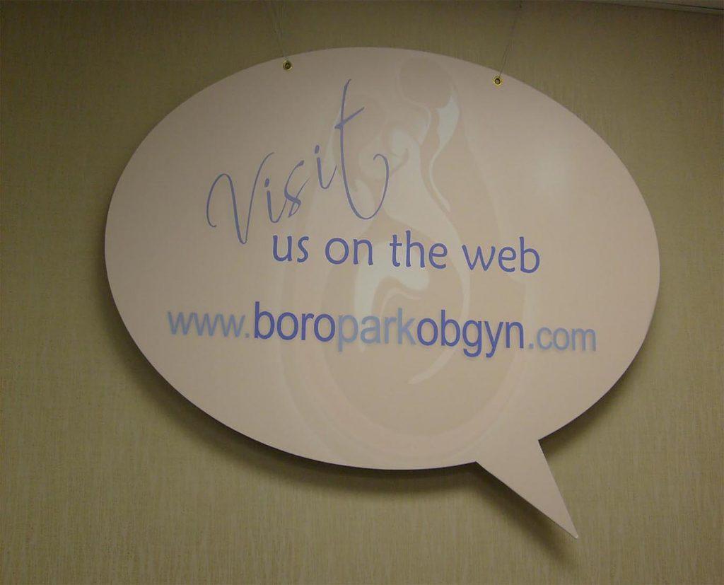 Chat Box Foam Board Sign