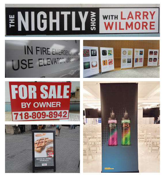 Event Signs and Graphics Printing in New Jersey