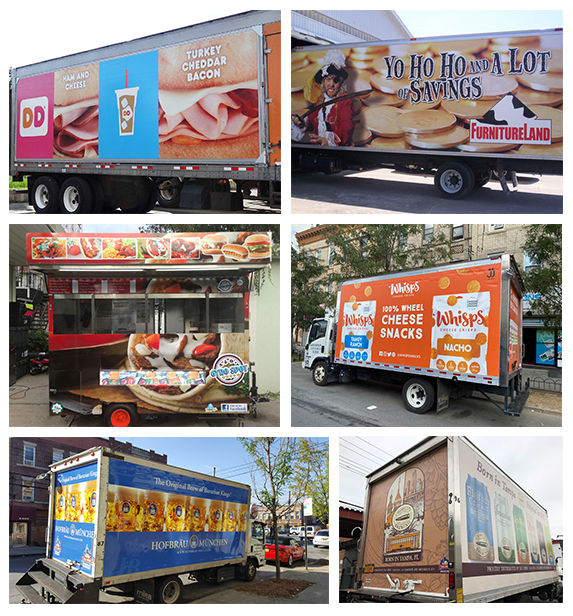 Commercial Food Cart and Truck Wrapping Company in NJ