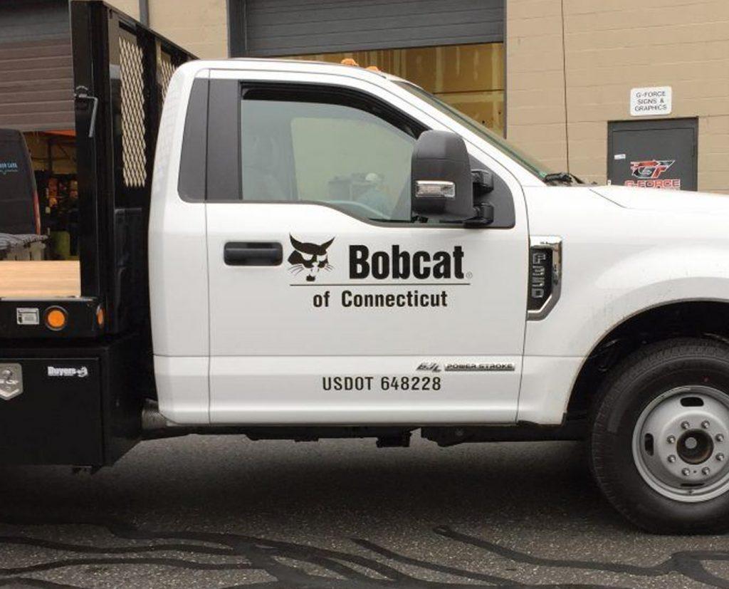 Front Door Commercial Truck Lettering