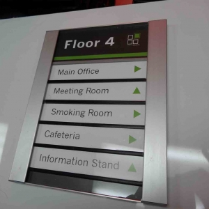 Directional Lobby Signs