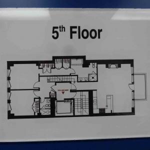 Floor Number Lobby Signs