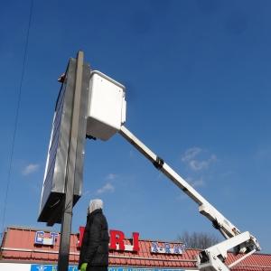 pole Sign Repair