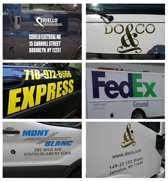 3M Vinyl Lettering for Vehicles in NJ