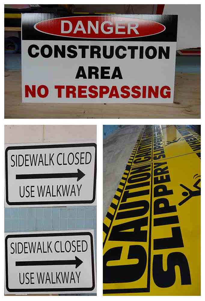 Options for Contractor Signs