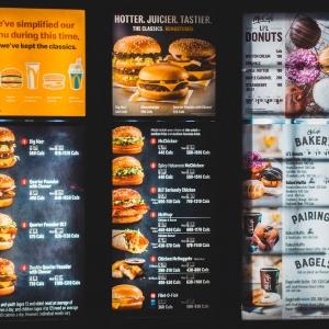 Menu Boards for Restaurants