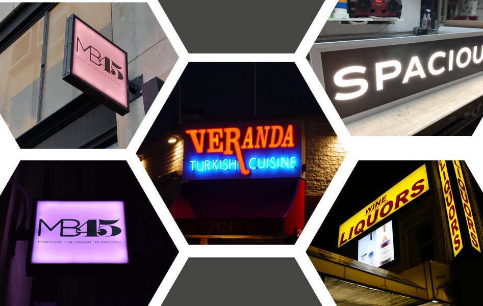 Led Lighted Sign Cabinets