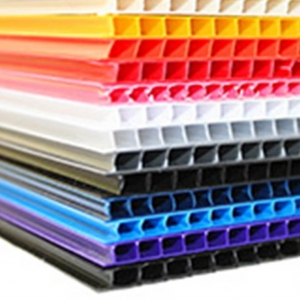 Custom Color Corrugated Plastic Sheets