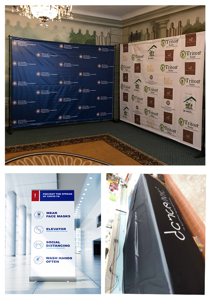 Types of Custom Event Signs