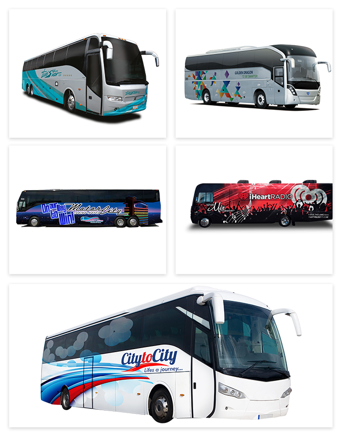 Your Local Bus Wraps Manufacturers and Installers