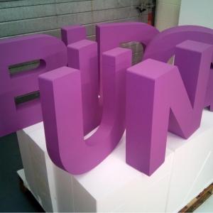 Custom Foam Letters