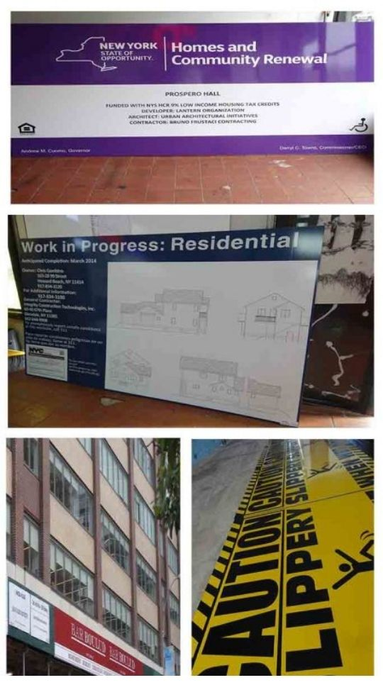 Benefits of Construction Signs from Blue Dot Signs
