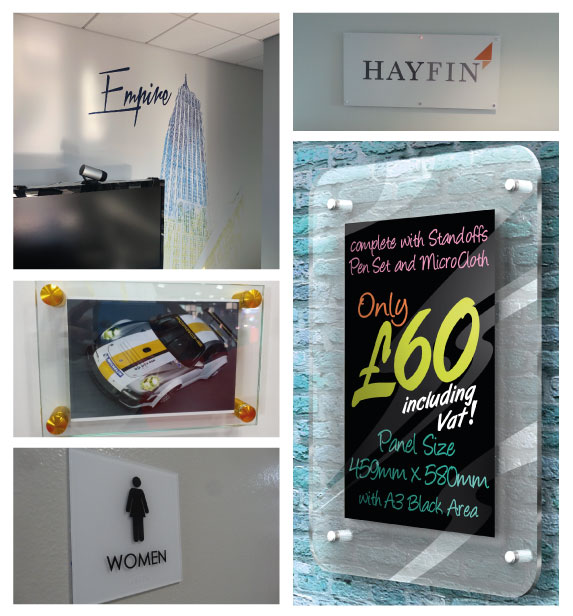 Interior Business Signs Manufacturer in New Jersey
